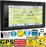 FOR/FITS 12-15 FOR TOYOTA TACOMA GPS NAV BLUETOOTH USB DVD/AUX RADIO STEREO PKG