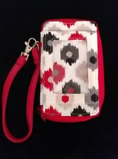 """Thirty One Timeless Wristlet Cell Phone, Wallet in """"I Can Ikat"""""""