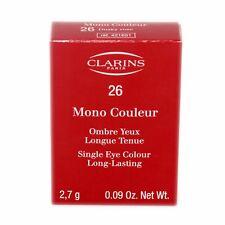 CLARINS SINGLE EYE COLOUR LONG-LASTING 2.7 G/0.09 OZ. #26 NIB-421651