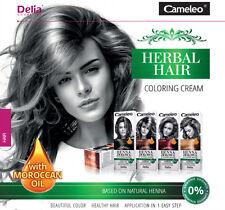 DELIA CAMELEO Kräuter- Haare färben Creme Natur Henna Ammoniak frei