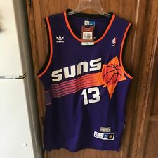 STEVE NASH PHOENIX SUNS Jersey Purple  Swingman  Throwback NBA VTG HWC L NWT