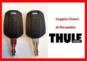 Ricambi Thule coppia chiavi codice N159 N 159 per Box barre portabici portasci