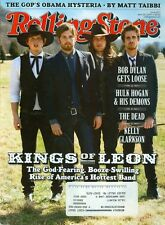 2009 Rolling Stone Magazine: Kings of Leon/GOP's Obama Hysteria/Bob Dylan