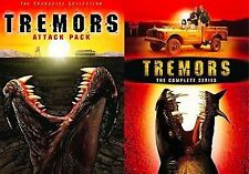 TREMORS ATTACK PACK 1 2 3 4 TV Complete Series DVD Set Show Lot Collection Box R