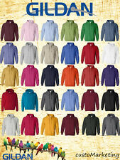 GILDAN Plain HOODIE Heavy Blend BLANK Hooded Sweatshirt 18500 S-5XL Hoodies
