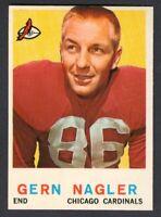 1959 Topps Football GERN NAGLER #93 Cardinals *NEARMINT-MINT*