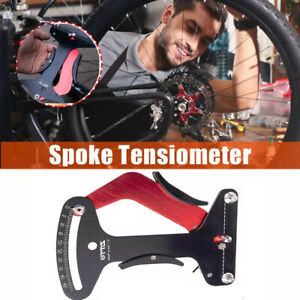 Bicycle Spokes Tension Meter Bike  Repair Adjustment Tool Measurement Gauges USA
