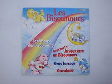 Disque 45T vinyl BO feuilleton TV Dessin animé Les bisounours - générique