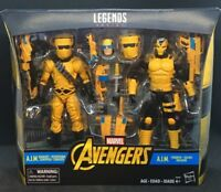 "Marvel Legends 6"" A.I.M Agents Scientist and AIM Shock Trooper 2-Pack"
