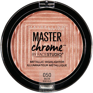 Maybelline Facestudio Master Chrome Metallic Highlighter Makeup 0.24 oz
