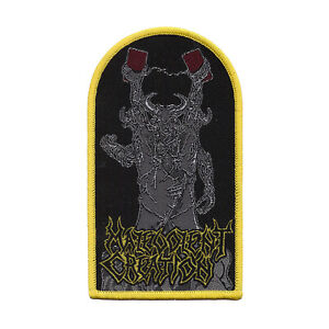 "Malevolent Creation ""The Ten Commandments"" Patch deicide-morbid angel-sinister"