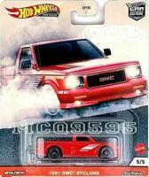 "HOT WHEELS 2020 CAR CULTURE POWER TRIP 1991 ""GMC"" SYCLONE"