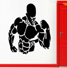 Body builder fitness Gym workout Wandtattoo Wallpaper Wand Schmuck 56 cm