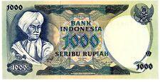 "Indonesia … P-113a … 1000 Rupiah … 1975 … AU*UNC*... Replacement ""X""."