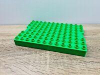 LEGO Duplo Green Baseplate Base Platform 12 x 8 Studs Piece Brick