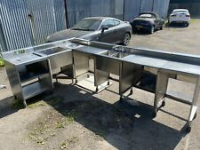 More details for used stainless steel kitchen units