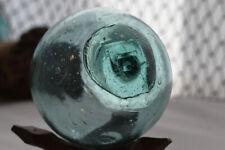 """Vintage Japanese Glass Fishing Float, 3.14"""", Wp Mark #31"""