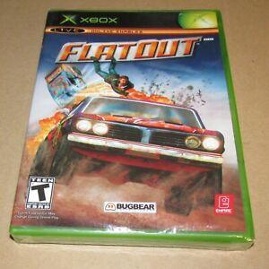 FlatOut (Microsoft Xbox) Brand New / Fast Shipping