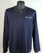 BMW Championship Long-Sleeve Shirt, Blue Adidas Golf XL