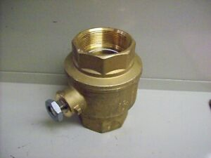 "bb) NEW Italian Brass Ball Valve - 3"" NPT"