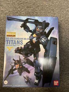 BANDAI 156948 MG 1/100 RX-178 GUNDAM Mk II Titans Ver 2.0 HD COLOR NEW LIMITED