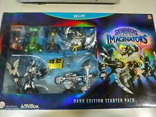 Skylanders Imaginartors Dunkel Ausgabe Starter Pack Wii U Activision Spanisch