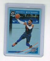 2018-19 Panini Donruss Optic Holo Prizm Russell Westbrook #107
