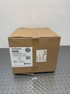 NuTone RN80 Ultra Pro Ventilation Fan P-10