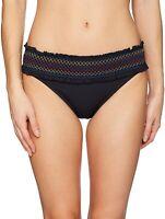 Bleu Rod Beattie Women's 239617 Band Hipster Bikini Bottom Swimwear Size 6