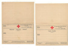 3841) franchigia militare 1^WW POW CROCE ROSSA firenze doppia