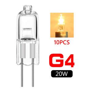 20w g4 halogen bulbs warm white lamp light 12v 10 pcs 5757302