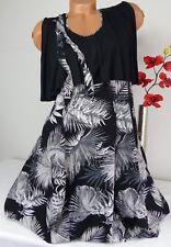 XADOO Designer Tunika Bluse Kleid Shirt Lagenlook Longshirt Ballon 44 46