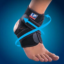 LP 757CA Extreme Ankle PAIR X2 Stabiliser Brace Sprain Strap Support Guard Pad