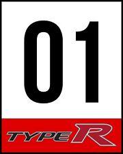 TYPE R Racing Door Sticker Decal NO GOOD RACING KANJO OSAKA HONDA