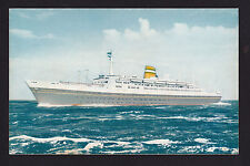 vintage Holland America Line ship SS Statendam postcard