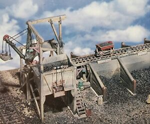 HO/HOn3 Otis Coal Co. Kit All Cast Metal New In Sealed Box From Woodland Scenics