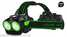 LED LENSER XEO 19R linterna frontal negra-verde 2.000 Lm, tienda Primeraocasion