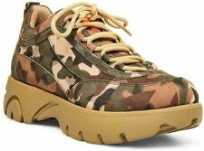 """Steve Madden Junior Low 2"""" Platform Sneakers women shoes Camouflage size 8 new"""