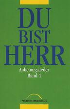 Du bist Herr - Anbetungslieder Band 4 - Grün - Liederbuch (früher 14,95 €)