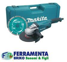 SMERIGLIATRICE ANGOLARE MAKITA FRULLINO 230mm 2200W GA9020KD - CASSETTA E DISCO