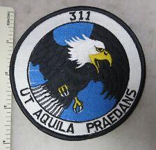 DUTCH ROYAL NETHERLANDS AIR FORCE 311VSQUADRON PATCH UT AQUILA PRAEDANS Original
