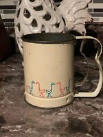 Vintage Androck Flour Sifter Handheld Kitchen Decor
