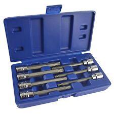 Jeu de douilles de bit de cannelure longue / Triple 3/8pouce carrés 4mm - 10mm