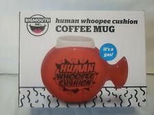 """Human Whoopie Cushion"" Bigmouth 20oz Ceramic COFFEE Cup Novelty Mug ~ NIB GIFT!"
