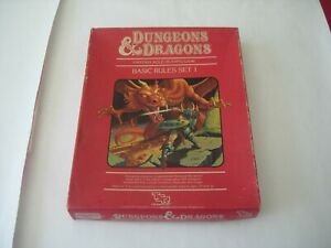 DUNGEONS & DRAGONS SET 1: BASIC RULES by TSR.