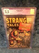 Atlas Comics 2/61 - Strange Tales #81 Scarecrow - CGC Restored 3.5 - Free Ship!