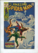 THE AMAZING SPIDER-MAN #74 (8.0) THE FANTASTIC SECET OF THE PETRIFIED TABLET!
