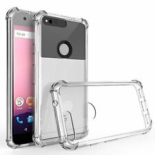 ES 100% GENUINE Ultra Thin TPU Soft Clear Case Cover For Google PIXEL 5'