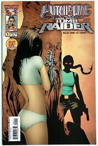 1998 WITCHBLADE TOMB RAIDER #1 Dynamic Forces NM Image Top Cow Comics Lara Croft