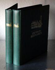 EISENBAHN Sammlung in 2 Bänden mit postfrische Ausgaben aus Aller Welt
